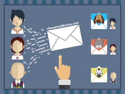 Sharing Email Addresses